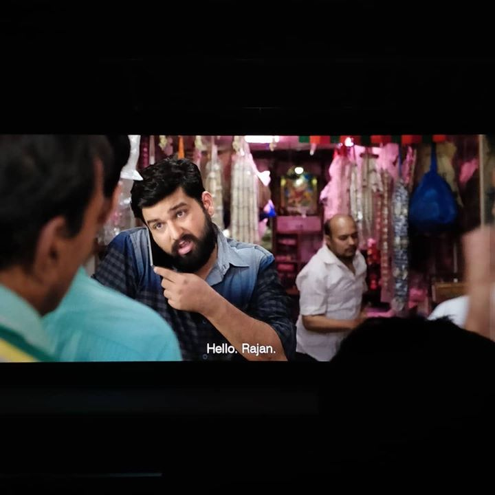 This feeling is just amazing!!! Watching yourself on Big Screen!!! #Ventilator