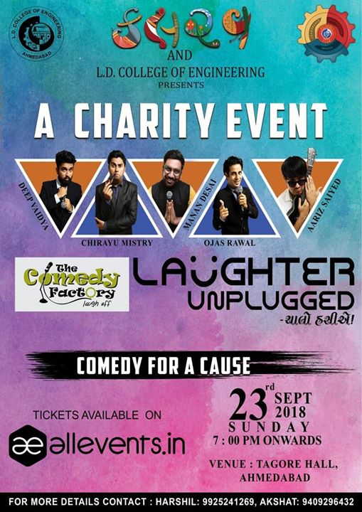 Ahmedabad! Get Ready For Some Madness and support us for the cause!!!