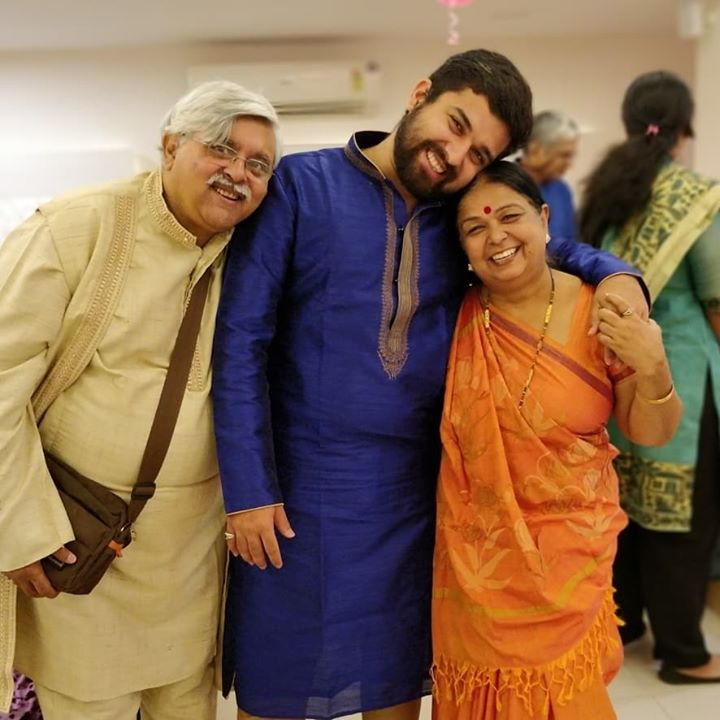 Happy Anniversary Motherji & Fatherji! Wishing you guys a healthy life ahead and lots of happiness (which you already have since my birth)