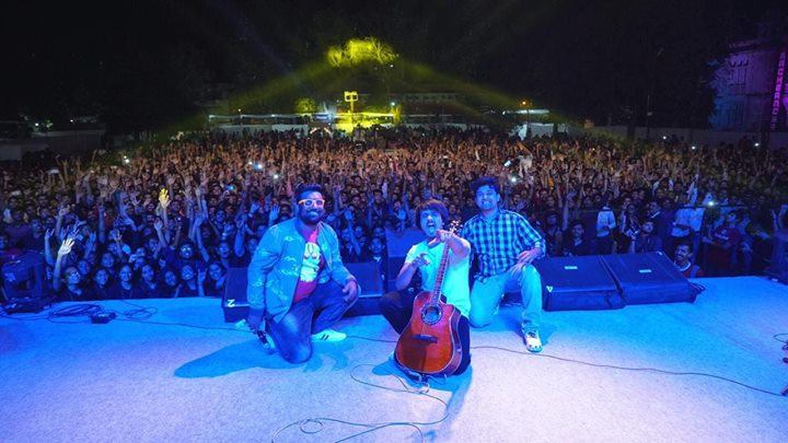 FootPrints - think BEYOND One of the best place I have performed so far. Thank you Manan Desai for giving us this opportunity to perform infront of an amazing 2500+ crowd.