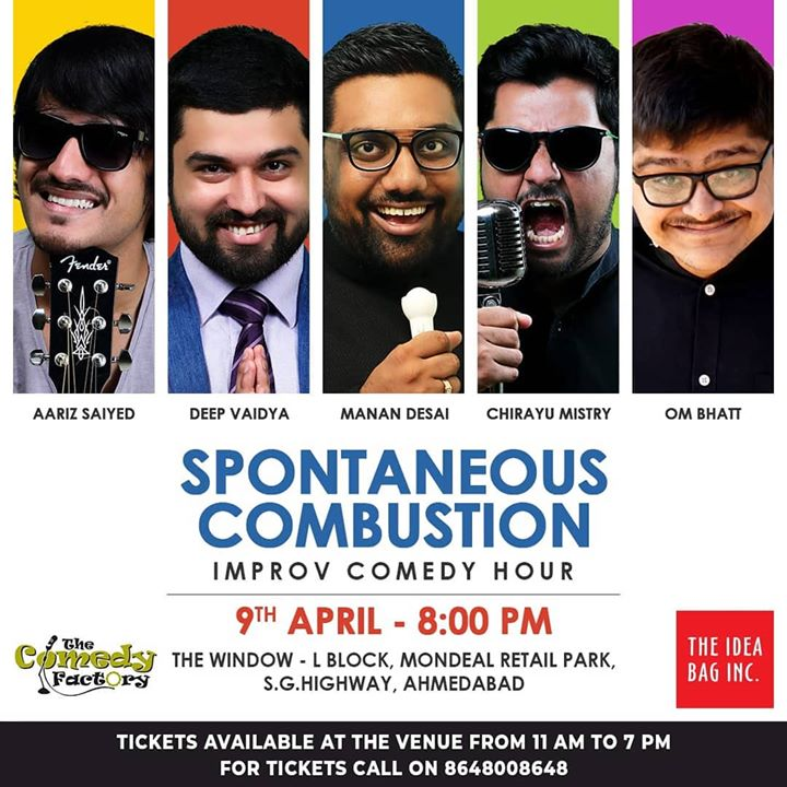 Ahmedabad! See you guys tomorrow. Tickets available at the venue. Book your seats now call on 8648008648 now!