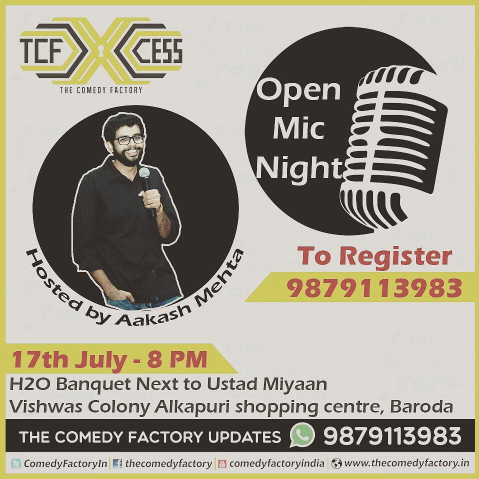 I am gonna perfrm friday night with few of the best comedians in town... book your seats now... #TCF #thecomedyfactory #openmic #newtalent #newgags #fridaynight #H2O
