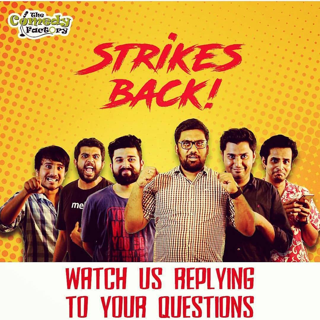 Yes we crossed 100K subscribers and this video is specially for all the viewers, commenters & trollers.  Link of the video is in @thecomedyfactoryindia's BIO