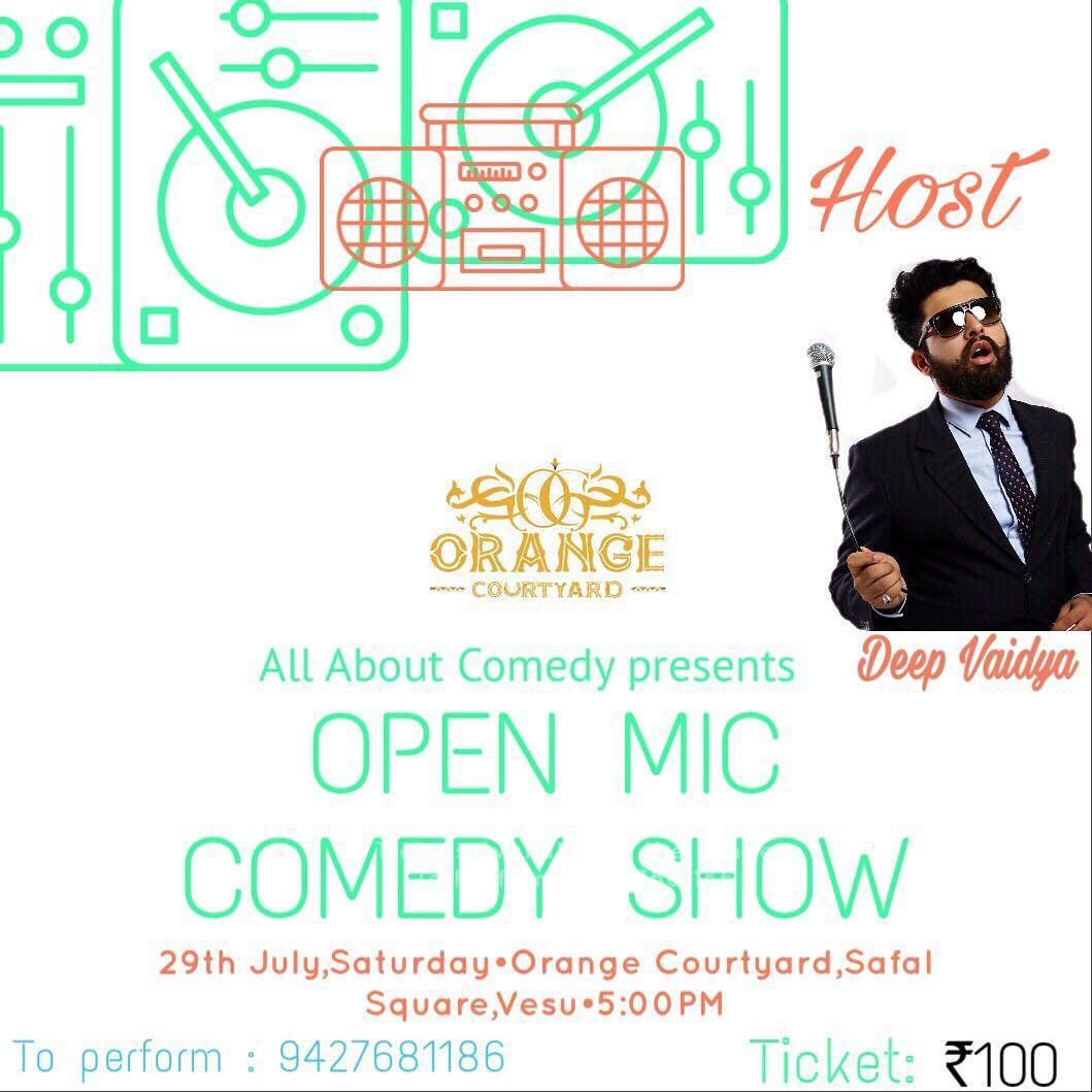 Hosting a Stand Up Comedy Open Mic after a long time... #nautanki #standup #standupcomedy  #comedy #comic #comedian #surat #gujju