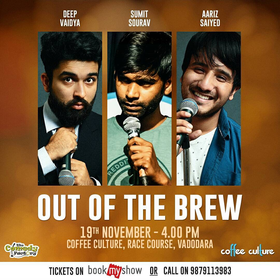Performing here in today with @aarizsaiyed & The Great Indian Laughter Challenge Top 10 Finalist @sum1ts0urav  Tickets are available on BookMyShow and  at the venue.  #nautanki #standup #comedy #standupcomedy #comedian #comic #vadodara