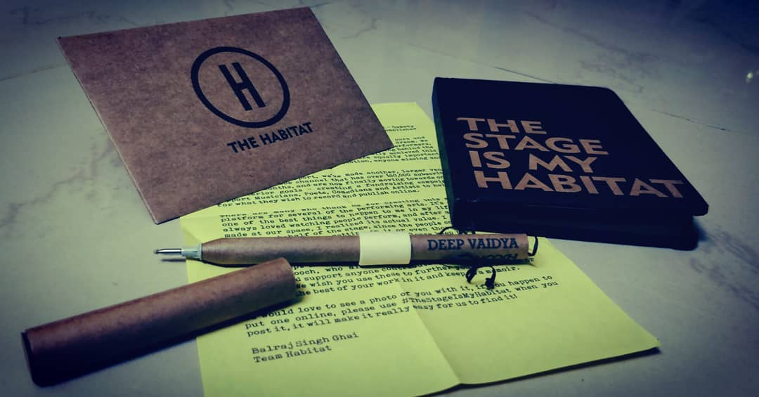 Thank You @indiehabitat for these lovely gifts... Congratulations for your success!!! I wish that the new room will bring new shows, new performers and new audience everyday and keep this place live as it has been so far... The credit goes to @balrajghai for all the success & Thank You so much @aupmanyu for introducing me to this room. . . #thestageismyhabitat #habitat #mumbai #comedy #comedian #comic #stage