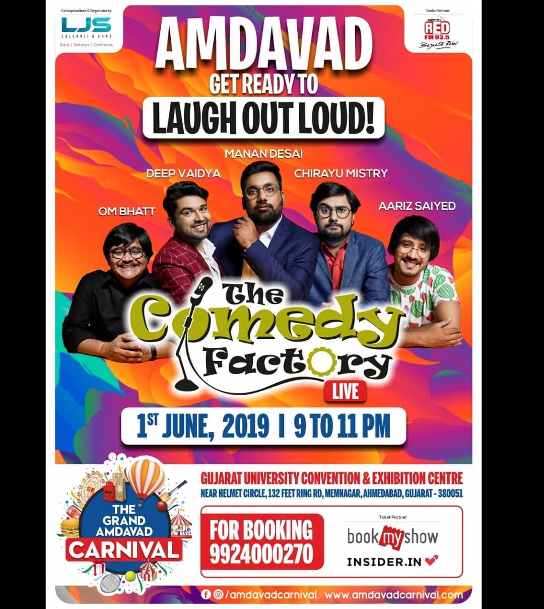 The Comedy Factory Team Is Coming To Ahmedabad!