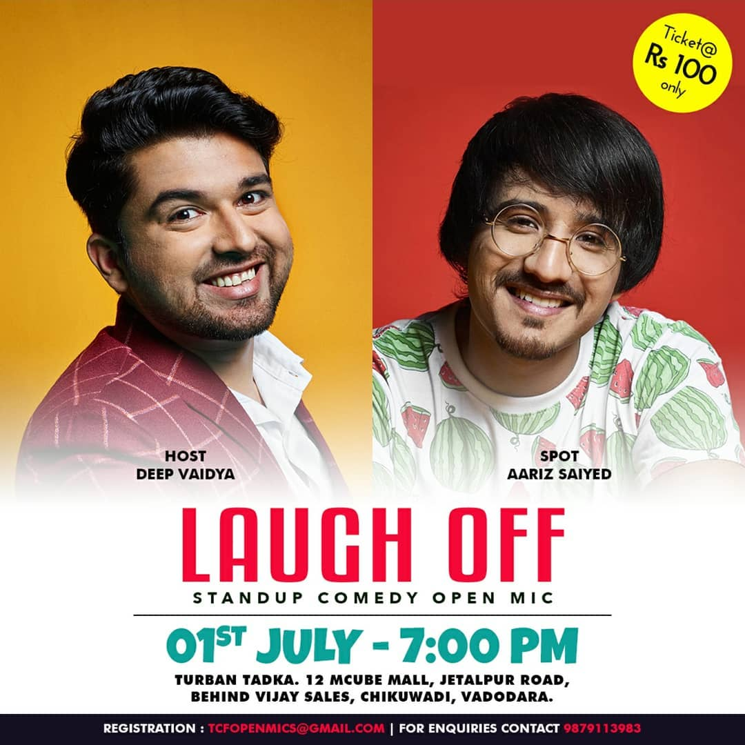 Hosting @thecomedyfactoryindia's Open Mic Tonight! Tickets available at the venue!!!
