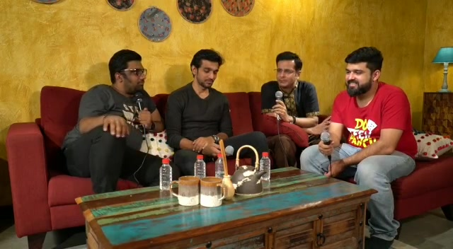 It feels special to be with The Legends Of Theatre. - Manan Desai . . . CheckOut This Amazing Podcast on @thecomedyfactoryindia's YouTube Channel.