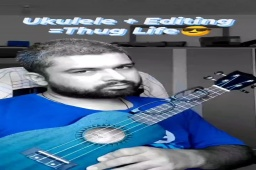 @aarizsaiyed's Proud Student!  #ukulele #drdre #thuglife #music #learning #funny #comedy #cover